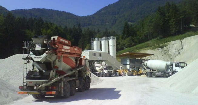 Production of concrete